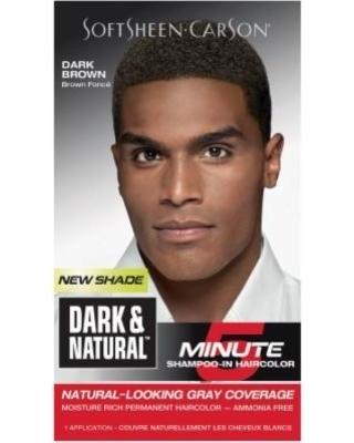 Dark & Natural 5 Minute Shampoo-In Hair Color Dark Brown - Marthely ...