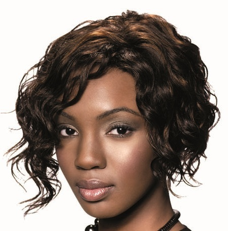Retro Wig Fashion 100% Human Hair