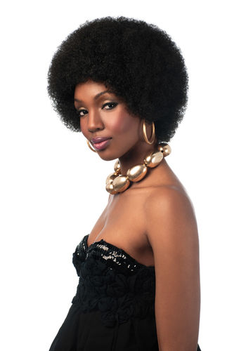 Big Afro Sleek Synthetic Wig Fashion