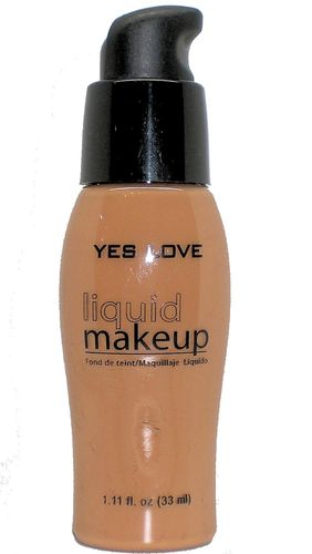 Yes Love MakeUp Foundation Creme Black Skin with Pump 33ml