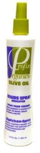 Profix Organics Olive Oil Braids Spray 355ml