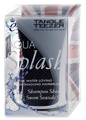Tangle Teezer Aqua Splash Detangling Hairbrush White