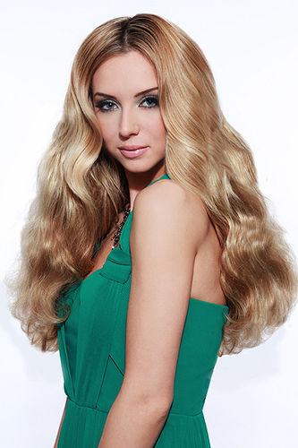 Hair Couture Remy Gold Triple Weft Human Hair 150g
