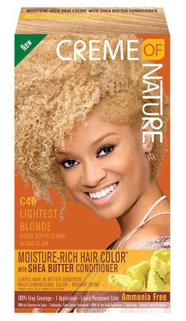 Creme of Nature Moisture-Rich Hair Color C40 Lightest Blonde