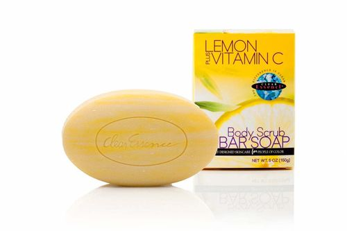 Clear Essence Body Scrub Bar Soap 150g