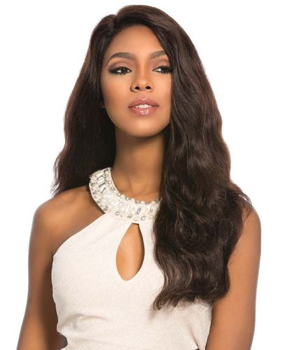 Sensationnel B&N 100% Brazilian Remy Swiss 4x4 Lace Front Wig Euro Body