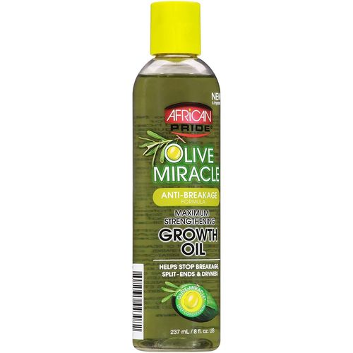 African Pride Olive Miracle Max. Strengthening Growth Oil 237ml
