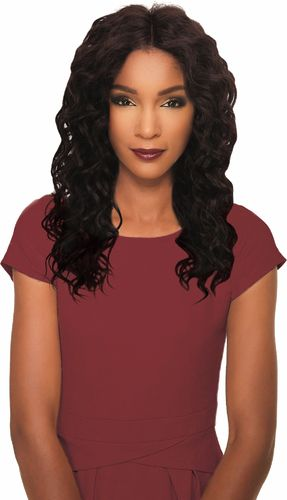 Clover 100% Human Hair Lace Parting Wig Spotlight Luxurious