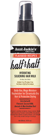 Aunt Jackie´s Half & Half Hydrating Silkening Hair Milk 355ml