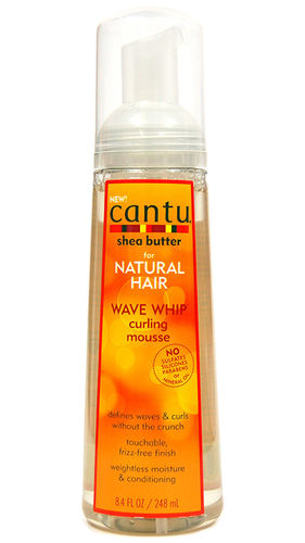 Cantu Shea Butter Wave Whip Curling Mousse 248ml