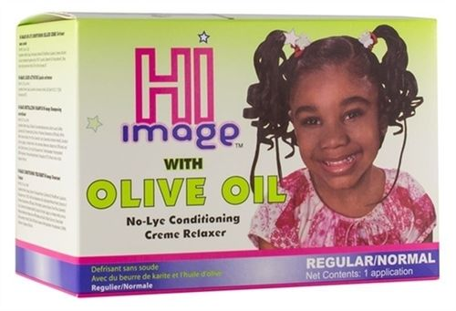 HI Image No-Lye Conditioning 1 App Creme Relaxer Regular
