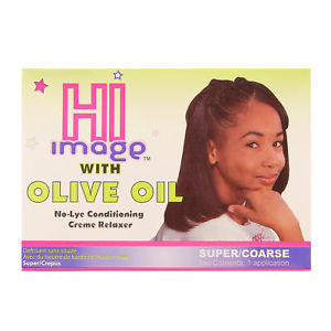 HI Image No-Lye Conditioning 1 App Creme Relaxer Super