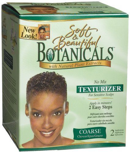 Soft & Beautiful Botanicals No Mix Texturizer Coarse 2 App