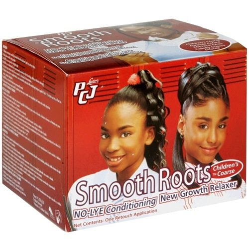 PCJ Smooth Roots No-Lye Conditioning New Growth Relaxer Coarse