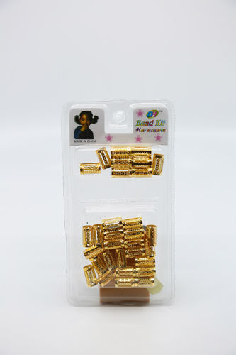 KL Bead Kit Hair Accessories Gold Colors 30 Pcs