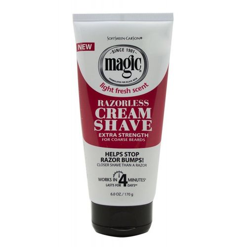 Magic Razorless Cream Shave Extra Strength 170g