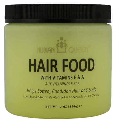 Nubian Queen Hair Food with Vitamins E&A 340g